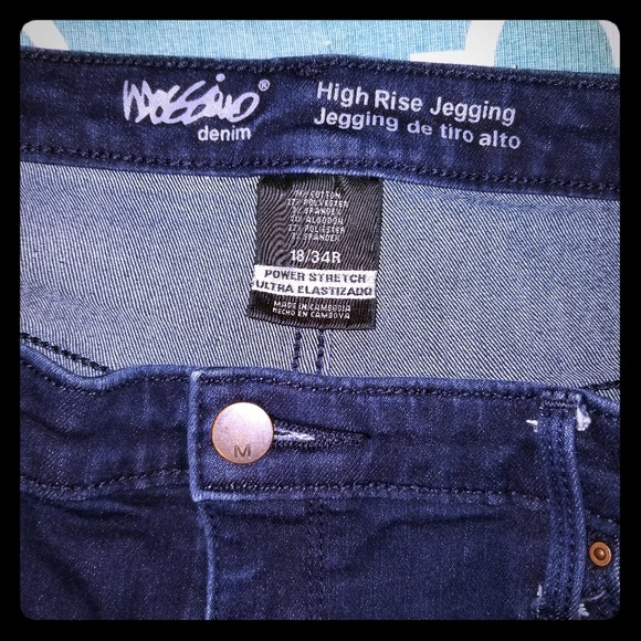 Mossimo Supply Co. Denim - Hig rise Jeggings